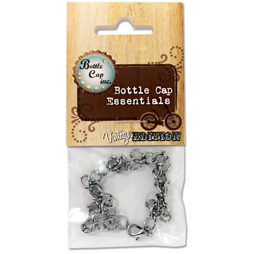 Bottle Cap Inc - Vintage Edition Collection - Jewelry - Charm Bracelet - Antique Silver