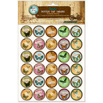 Bottle Cap Inc - Vintage Edition Collection - Bottle Cap Images - Butterfly Whimsy - 1 Inch