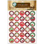 Bottle Cap Inc - Vintage Edition Collection - Bottle Cap Images - Cherry Girl - 1 Inch