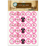 Bottle Cap Inc - Vintage Edition Collection - Bottle Cap Images - Go Pink - 1 Inch