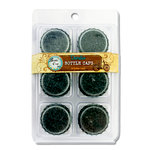 Bottle Cap Inc - Vintage Edition Collection - Bottle Caps - Distressed - Black
