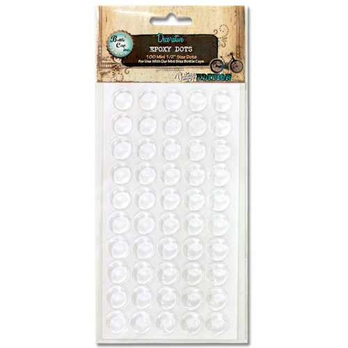 Bottle Cap Inc - Vintage Edition Collection - Epoxy Dots - .5 Inch