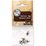 Bottle Cap Inc - Vintage Edition Collection - Jewelry Findings - Eye Hooks - Antique Silver