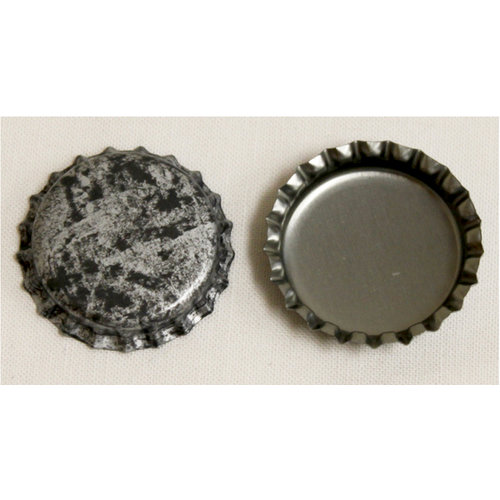 Bottle Cap Inc - Vintage Edition Collection - Vintage Bottle Caps - Antique Silver