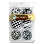 Bottle Cap Inc - Vintage Edition Collection - Double Sided White Bottle Caps with Images Set 1