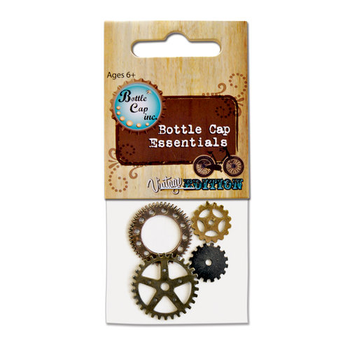 Bottle Cap Inc - Vintage Edition Collection - Gears