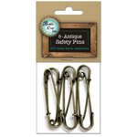 Bottle Cap Inc - Home Decor Essentials - Safety Pins - Antique Style
