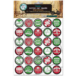 Bottle Cap Inc - Bottle Cap Images - Bright Christmas - 1 Inch