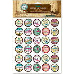 Bottle Cap Inc - Vintage Edition Collection - Bottle Cap Images - Happy Day - 1 Inch