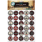 Bottle Cap Inc - Bottle Cap Images - Pirate Life - 1 Inch