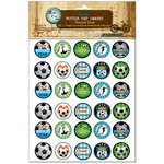 Bottle Cap Inc - Vintage Edition Collection - Bottle Cap Images - Soccer Star - 1 Inch