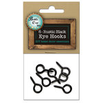 Bottle Cap Inc - Home Decor Essentials - Eye Hooks - Black