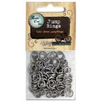 Bottle Cap Inc - Jewelry - Jump Rings 8mm - Silver - 100