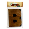 Bottle Cap Inc - Vintage Edition Collection - Altered Art - Large Letter Press Block - B