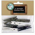 Bottle Cap Inc - Home Decor Essentials - Clothes Pins - 4.5mm