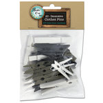 Bottle Cap Inc - Home Decor Essentials - Clothes Pins - Assorted Sizes