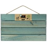 Bottle Cap Inc - Home Decor Essentials - Pallet - Weathered Blue - 10 x 18