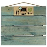 Bottle Cap Inc - Home Decor Essentials - Pallet - Weathered Blue - 12 x 14