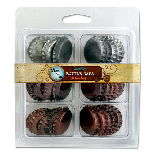 Bottle Cap Inc - Vintage Edition Collection - Bottle Caps - Patina - Multi