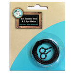 Bottle Cap Inc - Home Decor Essentials - Black Wire with 2 Eye Hooks