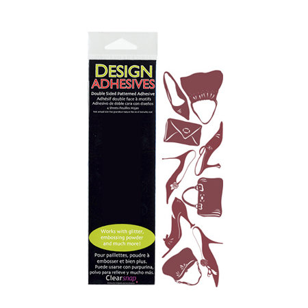Clearsnap - Design Adhesives - Double Sided Patterned Adhesive - Shopping Trip