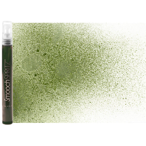 Smooch - Spritz - Donna Salazar - Pearlized Accent Ink Spray - Green Olive