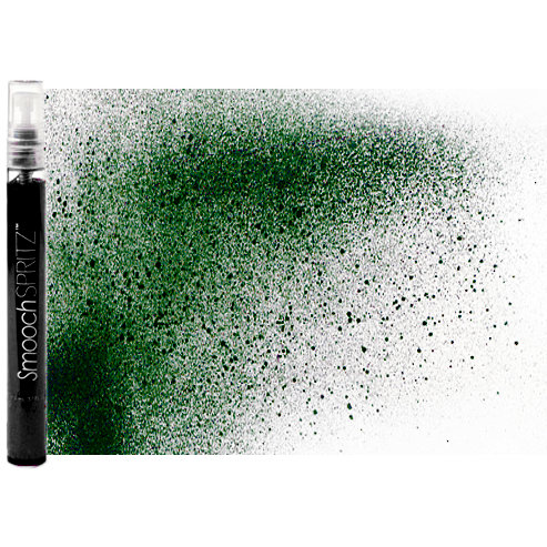 Smooch - Spritz - Donna Salazar - Pearlized Accent Ink Spray - Evergreen