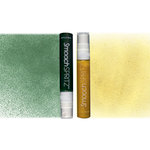 Smooch - Spritz - Pearlized Accent Ink - 2 Pack - Gold Glow and Emerald Sprinkle
