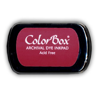 ColorBox - Archival Dye Inkpad - Dark Cherry