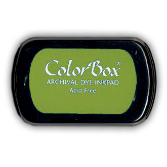 ColorBox - Archival Dye Inkpad - Tree Frog