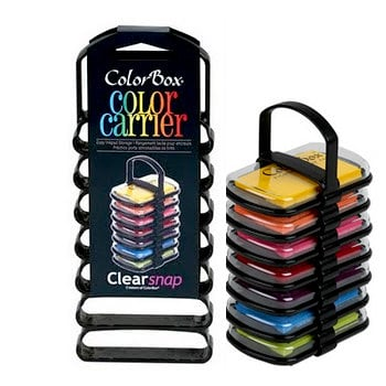 ColorBox - Pingment Inkpad Color Carrier - Black
