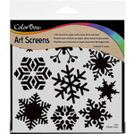 ColorBox - Art Screens - 6 x 6 Stencil - Blizzard
