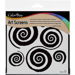 ColorBox - Art Screens - 6 x 6 Stencil - Mesmerized