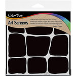 ColorBox - Art Screens - 6 x 6 Stencil - Stonework