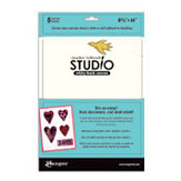 Ranger Ink - Studio by Claudine Hellmuth - Stick-Back Canvas - Natural - 8.5 x 11