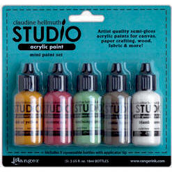 Ranger Ink - Studio by Claudine Hellmuth - Paint Kit - Metropolitan