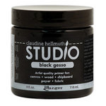 Ranger Ink - Studio by Claudine Hellmuth - Black Gesso