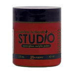 Ranger Ink - Studio by Claudine Hellmuth - Semi-Gloss Acrylic Paint - Dash of Red