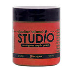 Ranger Ink - Studio by Claudine Hellmuth - Semi-Gloss Acrylic Paint - Modern Red