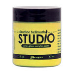 Ranger Ink - Studio by Claudine Hellmuth - Semi-Gloss Acrylic Paint - Yellow Pastel