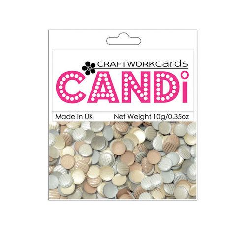 Craftwork Cards - Candi - Shimmer Paper Dots - Baker Street