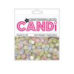 Craftwork Cards - Candi - Shimmer Paper Dots - Iced Gems