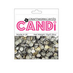 Craftwork Cards - Candi - Metallic Paper Dots - Steel
