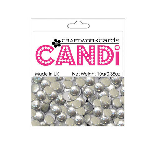 Craftwork Cards - Candi - Shimmer Paper Dots - Champagne Bubbles