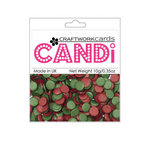 Craftwork Cards - Candi - Shimmer Paper Dots - Vintage Berries