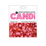 Craftwork Cards - Candi - Shimmer Paper Dots - Berry Crush