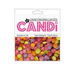 Craftwork Cards - Candi - Shimmer Paper Dots - Hot Tropics