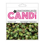 Craftwork Cards - Candi - Shimmer Paper Dots - Rainforest