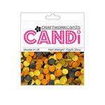 Craftwork Cards - Candi - Shimmer Paper Dots - Sahara