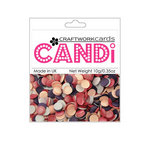 Craftwork Cards - Candi - Shimmer Paper Dots - Princess